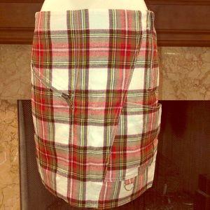 Burberry London Plaid Skirt